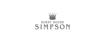 GUEST HOUSE SIMPSON ロゴ